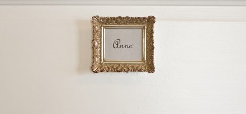 Anne Room Sign