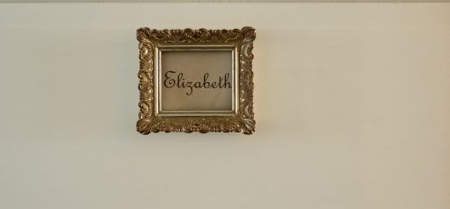 Elizabeth Room Sign