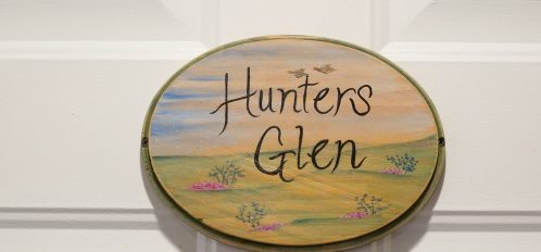 Hunter Glen sign