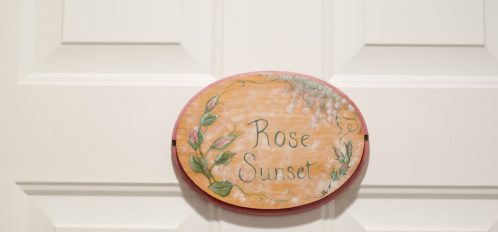 Rose Sunset Sign