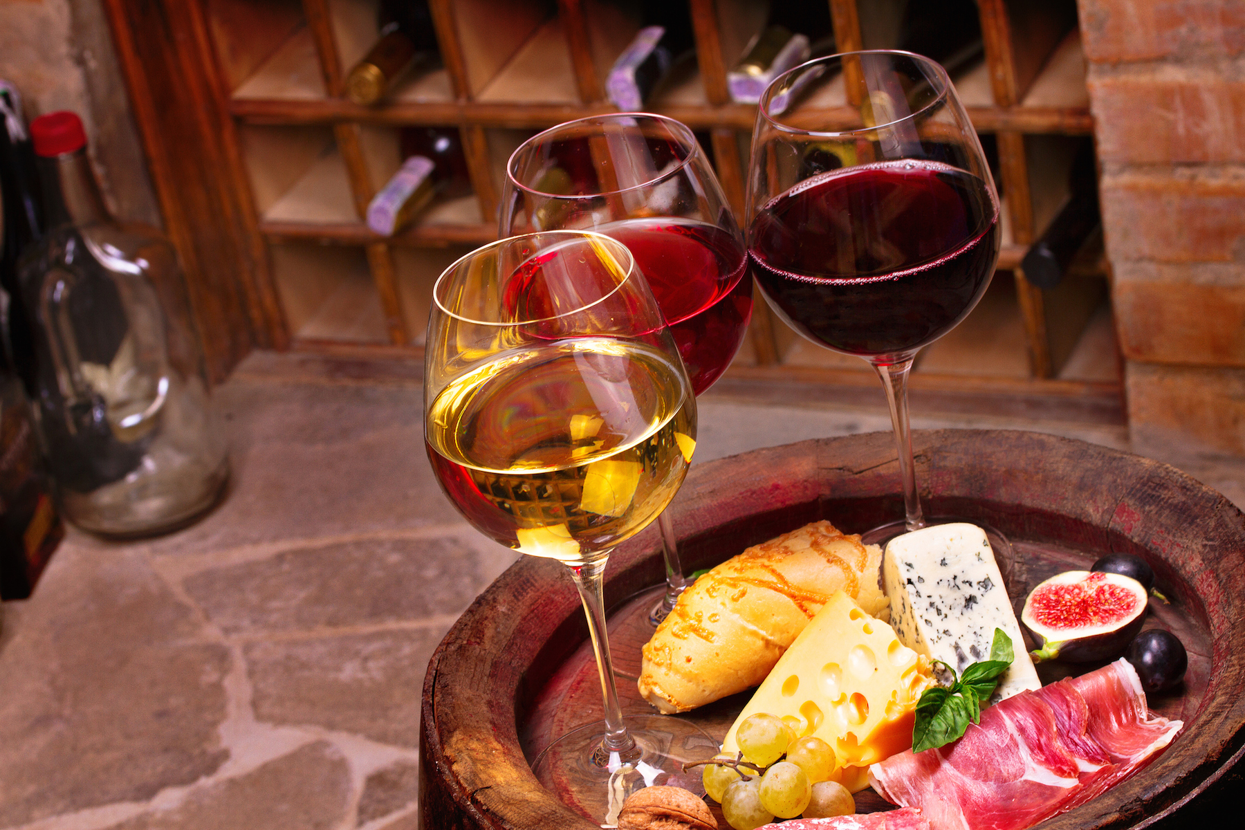 Enjoy different wines at Yakima Valley wineries.